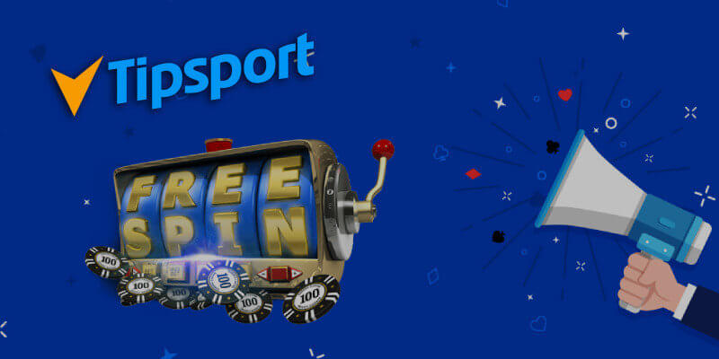 Free Spiny v Tipsport online casinu