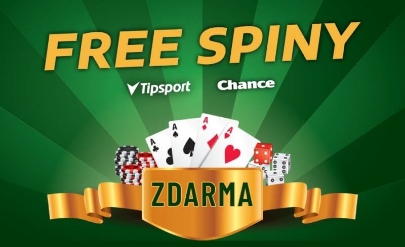 Tipsport a Chance Vegas Free spiny zdarma dnes!