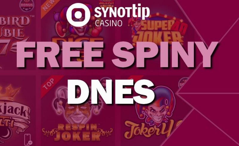 Synottip free spiny DNES