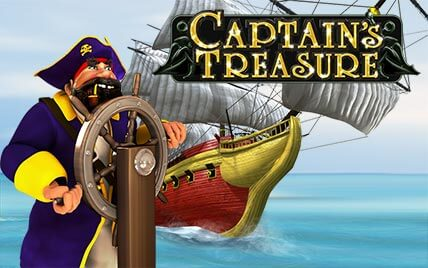Captain Treasure - Playtech online automat zdarma