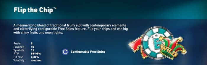 Synot Tip - online casino - Flip the Chip