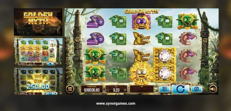 Synot games - online casino - Golden Myth a Halloween Fruits
